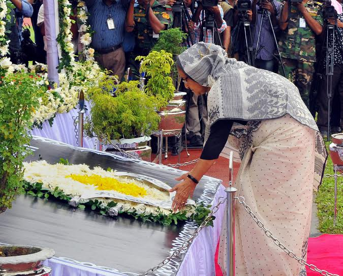 Tributes to Bangladesh cafe siege victims in Dhaka
