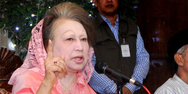 Nasty politics, says Khaleda