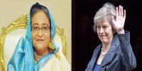 Hasina greets Theresa May