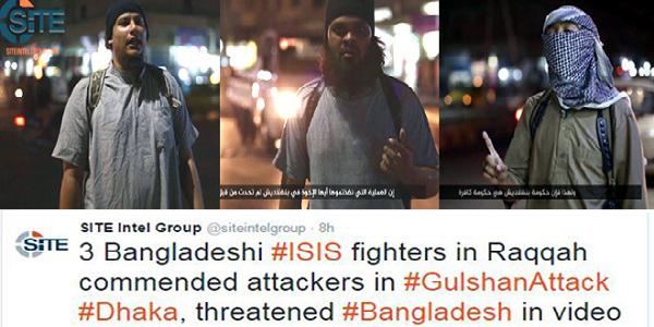 Jihadists' video threatens more attacks on Bangladesh