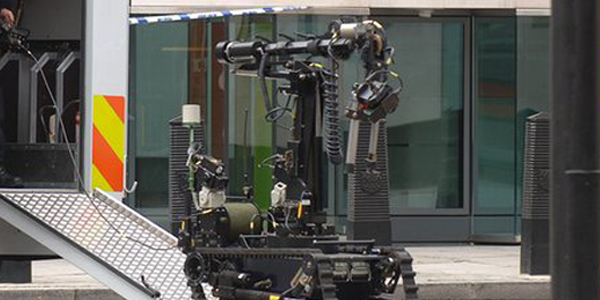 First use of police robot to kill Dallas shooting suspect