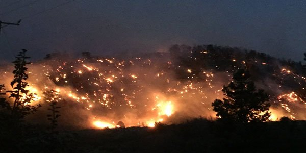 Thousands evicted after California wildfires