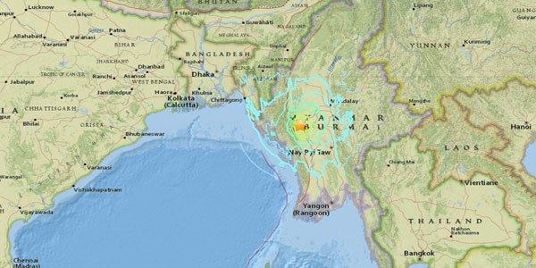 Myanmar earthquake jolts Bangladesh, India and Thailand