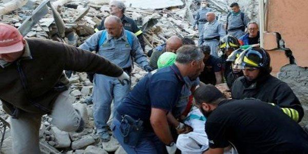 Earthquake kills 38 in Italy