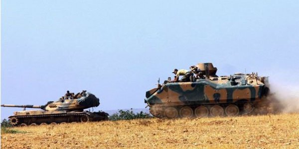 Turkey begins anti-IS campaign in Syria