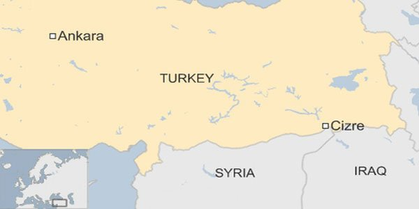 Eight policemen killed in Turkey blast