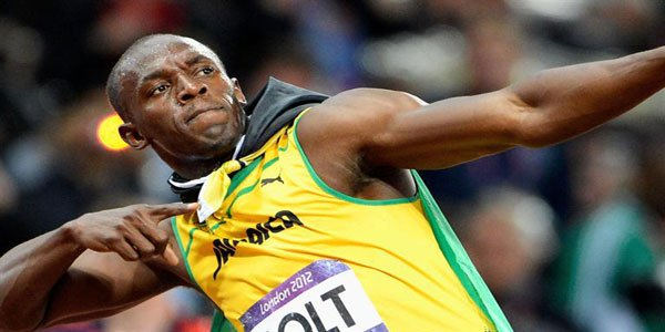 Usain Bolt wins 100m gold