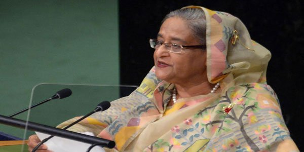 Hasina honoured with Planet 50-50 Champion and Agent of Change Award
