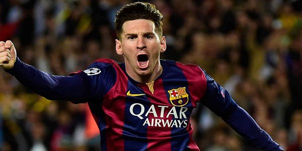 Barcelona striker Lionel Messi ruled out for three weeks