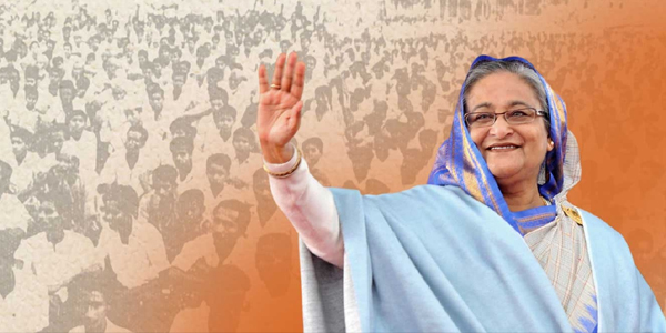 Hasina flags off AL electioneering