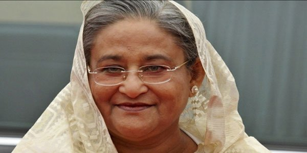 Hasina for halting Muslim sectarian war