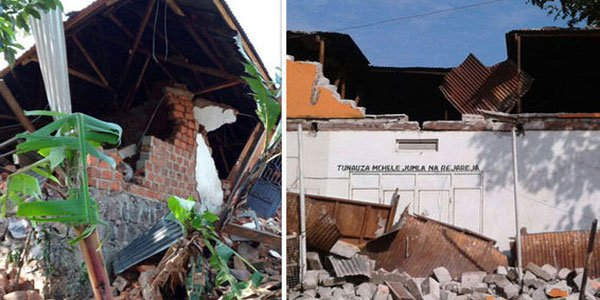 Tanzania earthquake kills 13