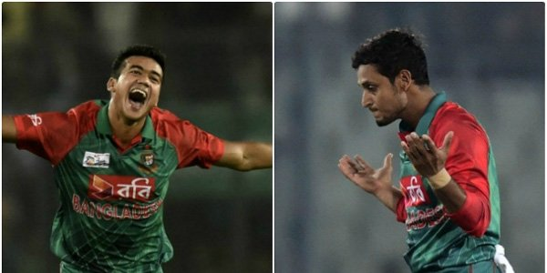 Bowling actions by Arafat and Taskin found to be legal