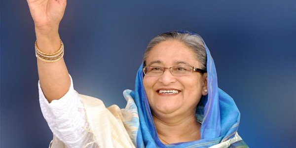 Hasina reaches India to attend BIMSTEC outreach summit