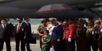 Chinese President Xi arrives in Dhaka