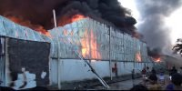 Fire at Gazipur spinning mill