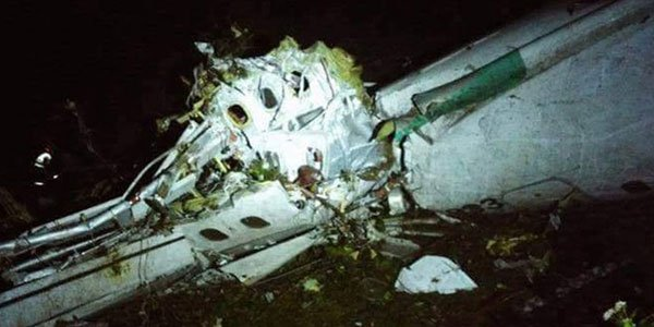Colombia plane crash kills 76 including Brazilian footballers
