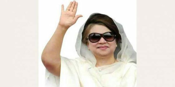 Khaleda Zia tested positive for Covid-19