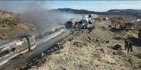 Iran trains mishap kills 44