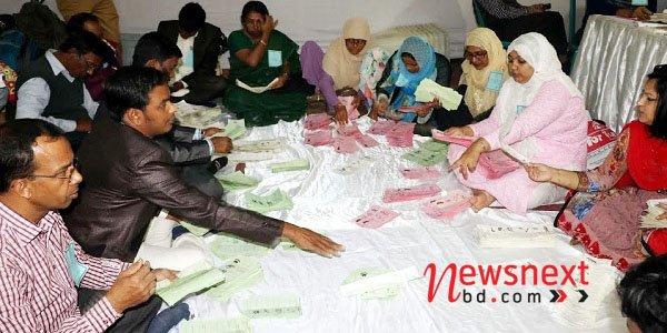 Awami League leads Narayanganj mayoral election