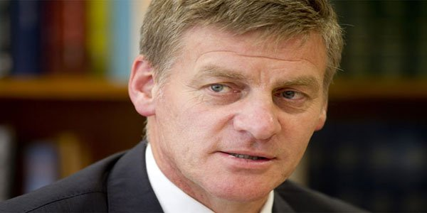 Bill English sworn in as New Zealand's PM
