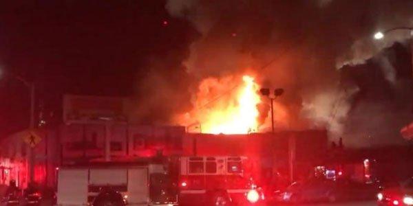 Club fire kills nine in San Francisco