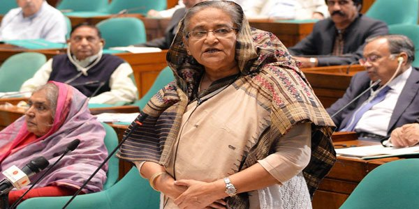 I work for Bangladesh risking my life, says Hasina