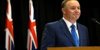"New Zealand Prime Minister resigns to ""respond wife's request"""