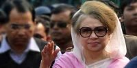 Khaleda appears before court in graft case in Dhaka