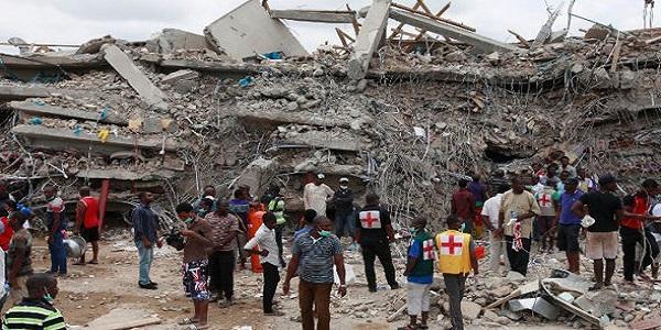 Church collapse kills 60 in Nigeria