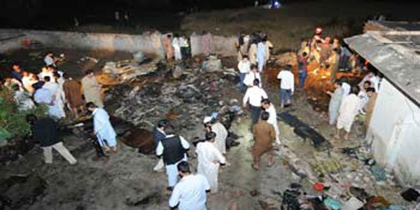 Pakistan plane crash kills 47 passengers