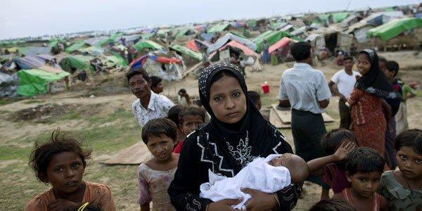Myanmar refugee