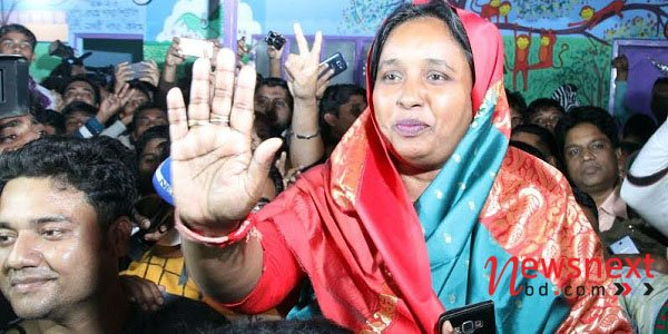 Ivy set to become Narayanganj Mayor for second-straight term
