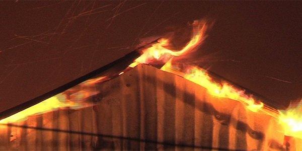 Dhaka slum fire burnt shanties to ashes