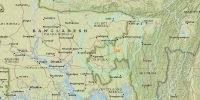 Bangladesh jolted by earthquake in Tripura