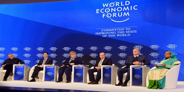 Hasina defends Rampal power plant at WEF