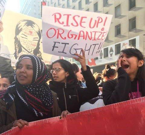 US protest, politics