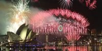 World celebration ring in New Year