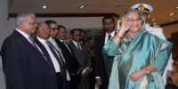 Hasina off to Munich to attend security conference