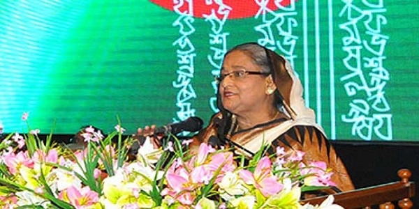 Hasina hands Ekushey Padak among 17 eminent citizens