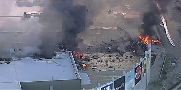 Five killed after plane crash on shopping mall in Australia