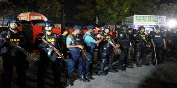 Suicide bomber killed in blast at Bangladesh checkpoint
