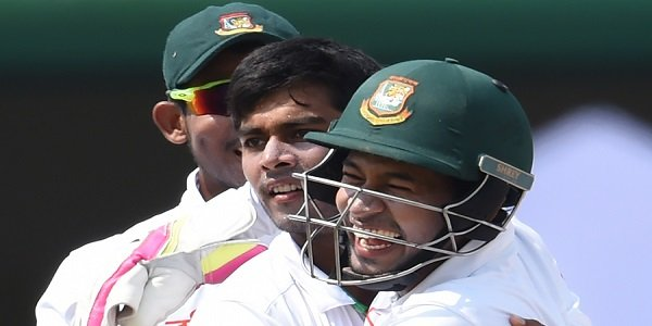 Bangladesh beat Sri Lanka by 4 wickets to mark 100th test match