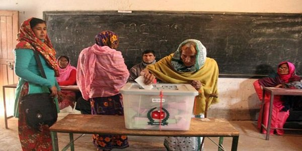Voting underway in Gaibandha-1 by-election