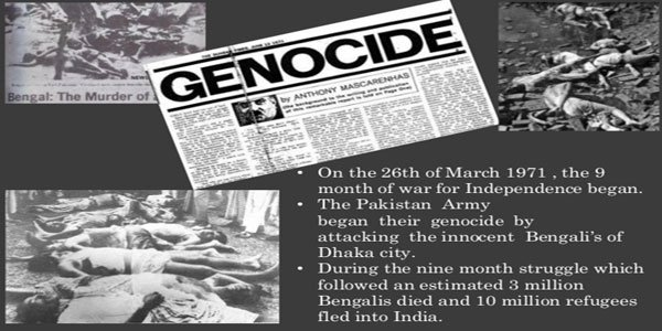 Bangladesh to observe Genocide Day commemorating Pakistani atrocity