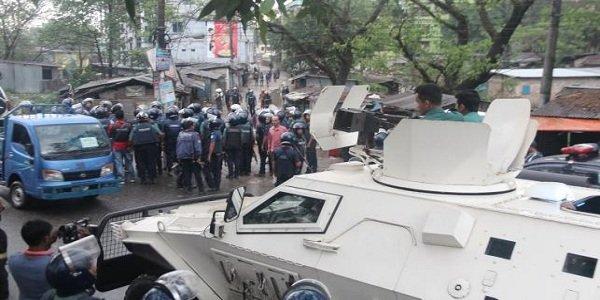 Commando operation at suspected militant den in Sylhet