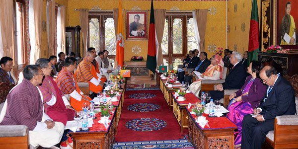 Bangladesh-Bhutan sign five deals to strengthen cooperation