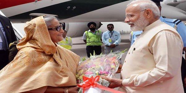 Hasina begins India visit