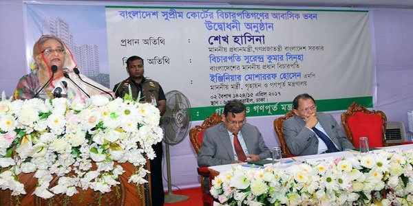 Hasina calls for harmony among three state organs