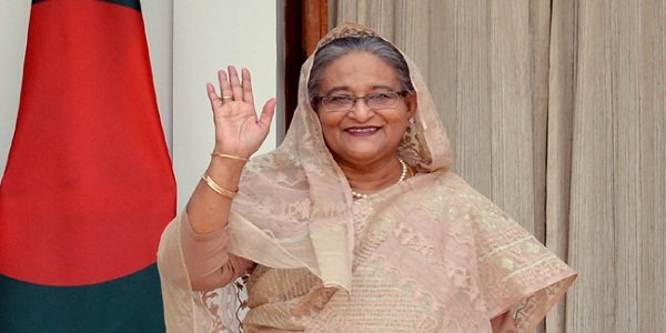 Hasina off to Sweden